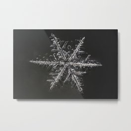 January Snowflake #4 Metal Print