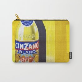 Vintage Cinzano Blanc Advertisement Poster Carry-All Pouch