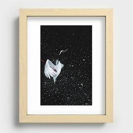 Crane Expanded Recessed Framed Print