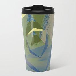 Multifaceted - Serpentine and Lapis Lazuli Travel Mug