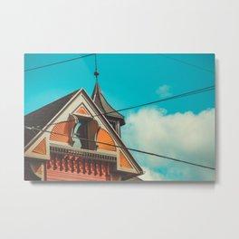 Sherbet House Metal Print