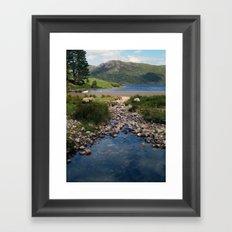 Loch Ba Framed Art Print