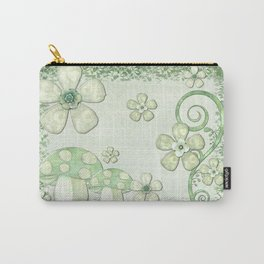 Chantily Whimsical Mixed Media Carry-All Pouch