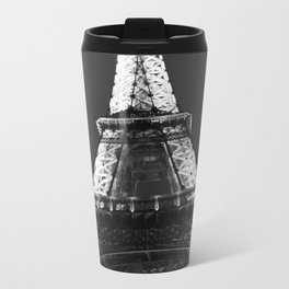 retro eiffel tower  Metal Travel Mug