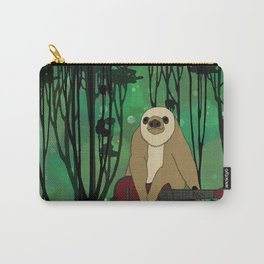 Flock of Gerrys Zososlow Sloth in the Forest Carry-All Pouch