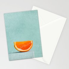 summer in orange II Stationery Cards