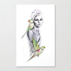 Paradise no.1 Canvas Print
