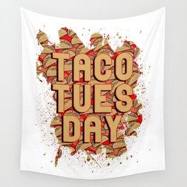 Taco Tuesday Wall Tapestry