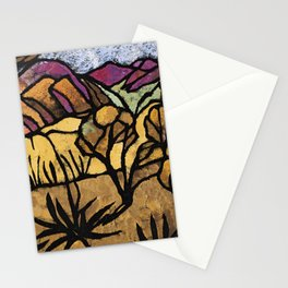 """""""A Mile Out of Alice Spings"""" Margaret Preston Stationery Cards"""