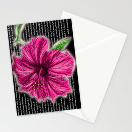Lettre a une flamme 2.0 Stationery Cards