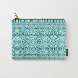 Minty Mandalas Carry-All Pouch