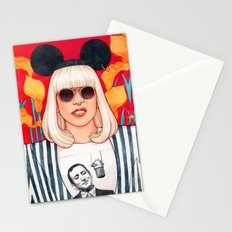 jazz art pop punk Stationery Cards