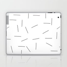 Scattering in black and white Laptop & iPad Skin