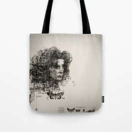 involuntary dilation of the iris Tote Bag