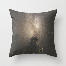 Milky Way XX Throw Pillow