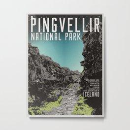 Iceland: Pingvellir Metal Print