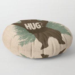Bear Hug Floor Pillow