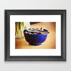 Still Life with Pecans Framed Art Print