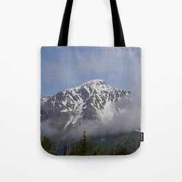 Seward Mountain Fog - Alaska Tote Bag