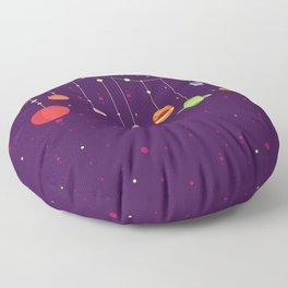 Halloween's Galaxy Floor Pillow