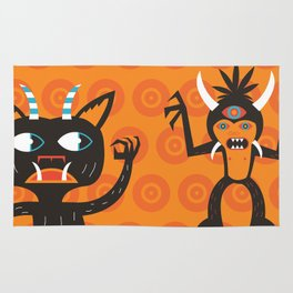 3 Eye Monster Rug