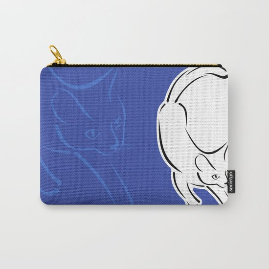 Cat in motion Carry-All Pouch