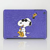 snoopy iPad Cases featuring Snoopy by DisPrints