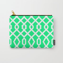 Grille No. 3 -- Seafoam Carry-All Pouch