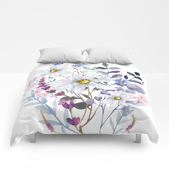 Wildflowers V Comforters