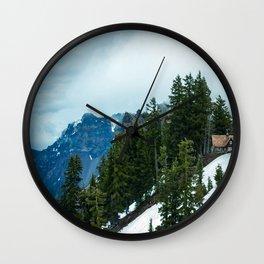 Crater lake-OR Wall Clock
