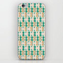 Uende Cactus - Geometric and bold retro shapes iPhone Skin