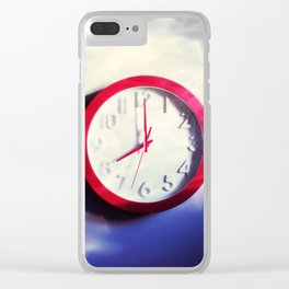"""fifteen minutes with you / well, I wouldn't say no"" Clear iPhone Case"