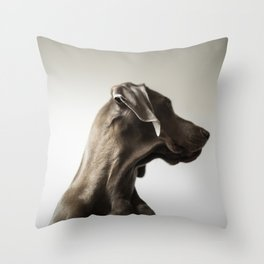 Portrait of Dave (5) Throw Pillow
