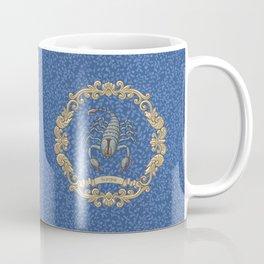 Vintage Astrology - Scorpio Coffee Mug