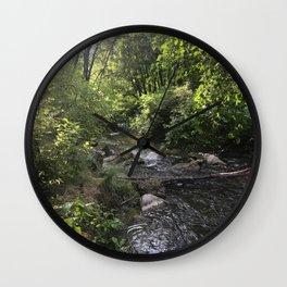 Canyon River 2 Wall Clock