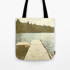 Lily Bay Dock Tote Bag