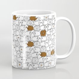 Too Many Hedgehogs Coffee Mug