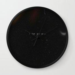 Seoul - RM Mono - BTS Wall Clock