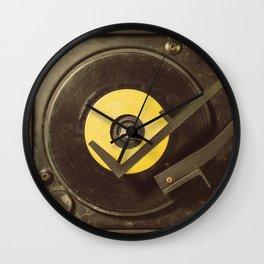 Vintage Tunes Wall Clock