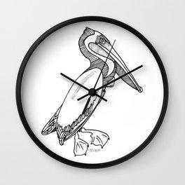 Pelican #1 Wall Clock