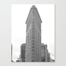 Flat Iron Canvas Print