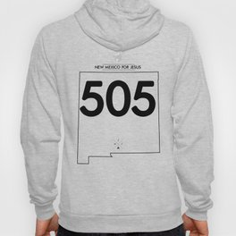 New Mexico for Jesus 505 Hoody