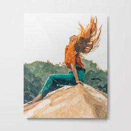 Live Free #painting Metal Print