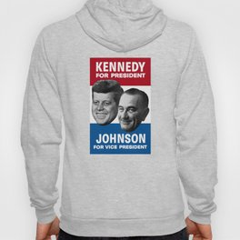 Kennedy And Johnson 1960 Election Hoody