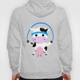 TeeTee - The Aerobic Cow #02 Hoody