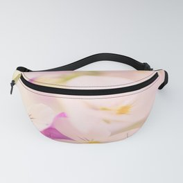 Something delicious and soft - violets in pastel colors - #Society6 #buyart Fanny Pack