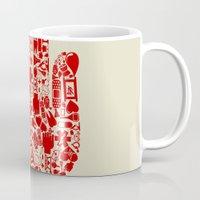 medicine Mugs featuring Hand medicine by aleksander1