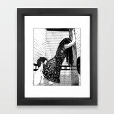 asc 522 - La belle majorquine I (Roser Amills I)  Framed Art Print