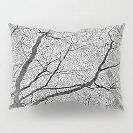 Interconnected Paths (grey) Pillow Sham