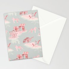 Toile de Africa Stationery Cards